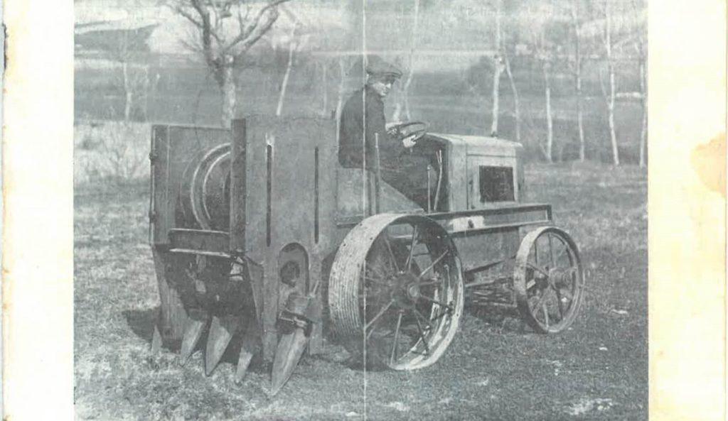 Storia moderna delle macchine agricole