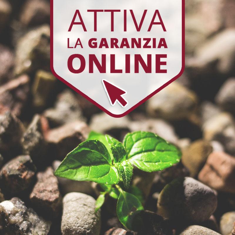 Nuovo servizio attiva garanzia on-line